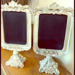 Framed Chalk Board (Pair)